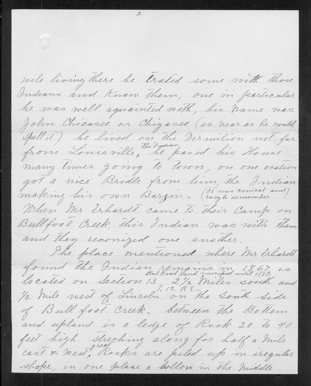 Adolph Roenigk and George W. Martin correspondence - 2