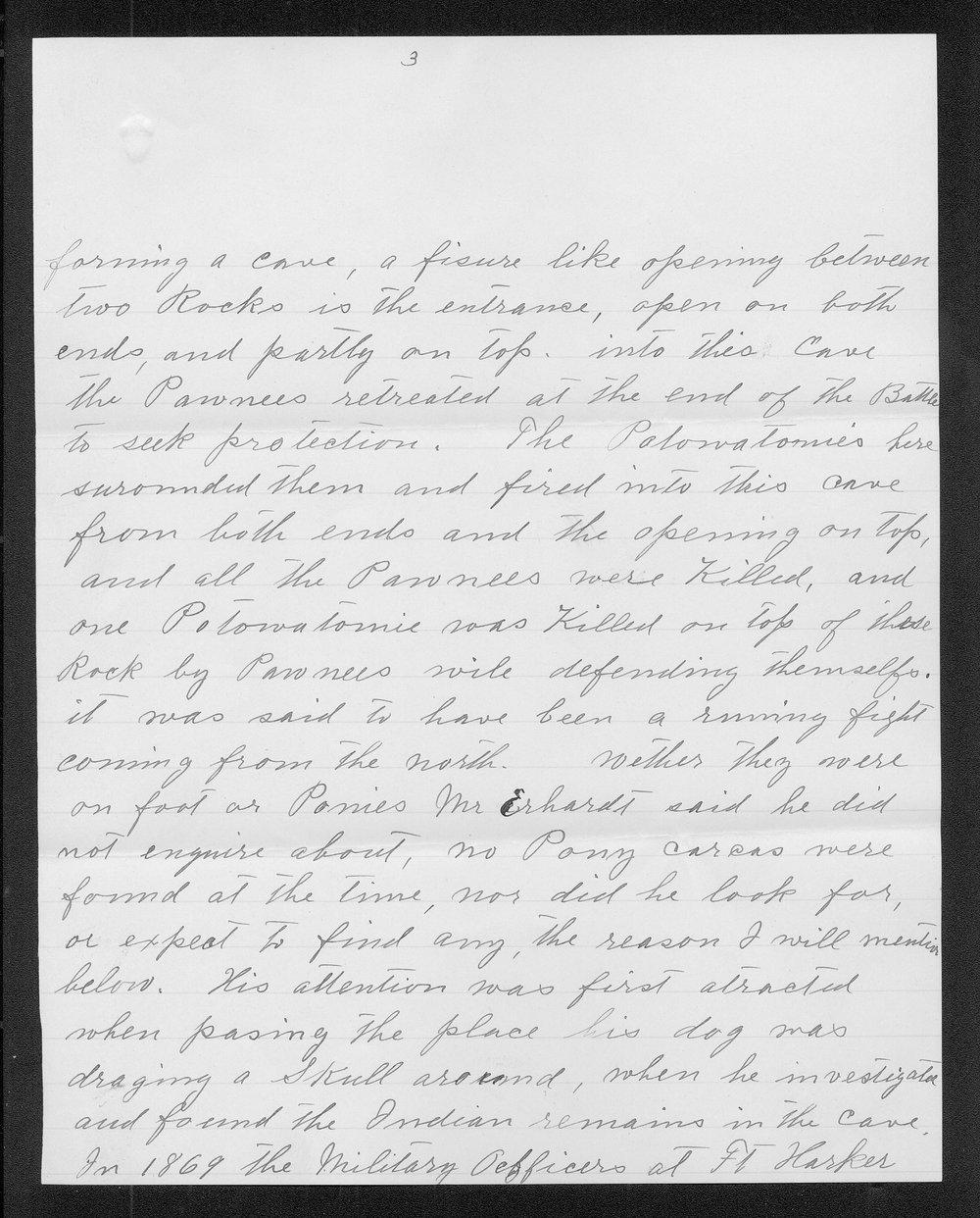 Adolph Roenigk and George W. Martin correspondence - 3
