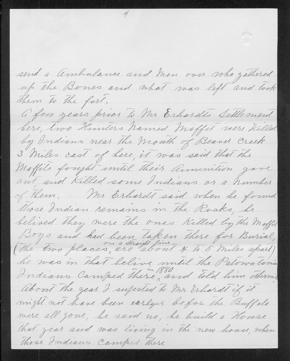 Adolph Roenigk and George W. Martin correspondence - 4