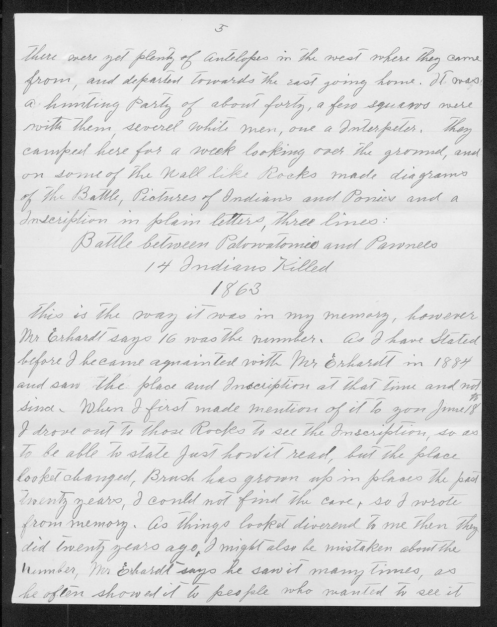 Adolph Roenigk and George W. Martin correspondence - 5