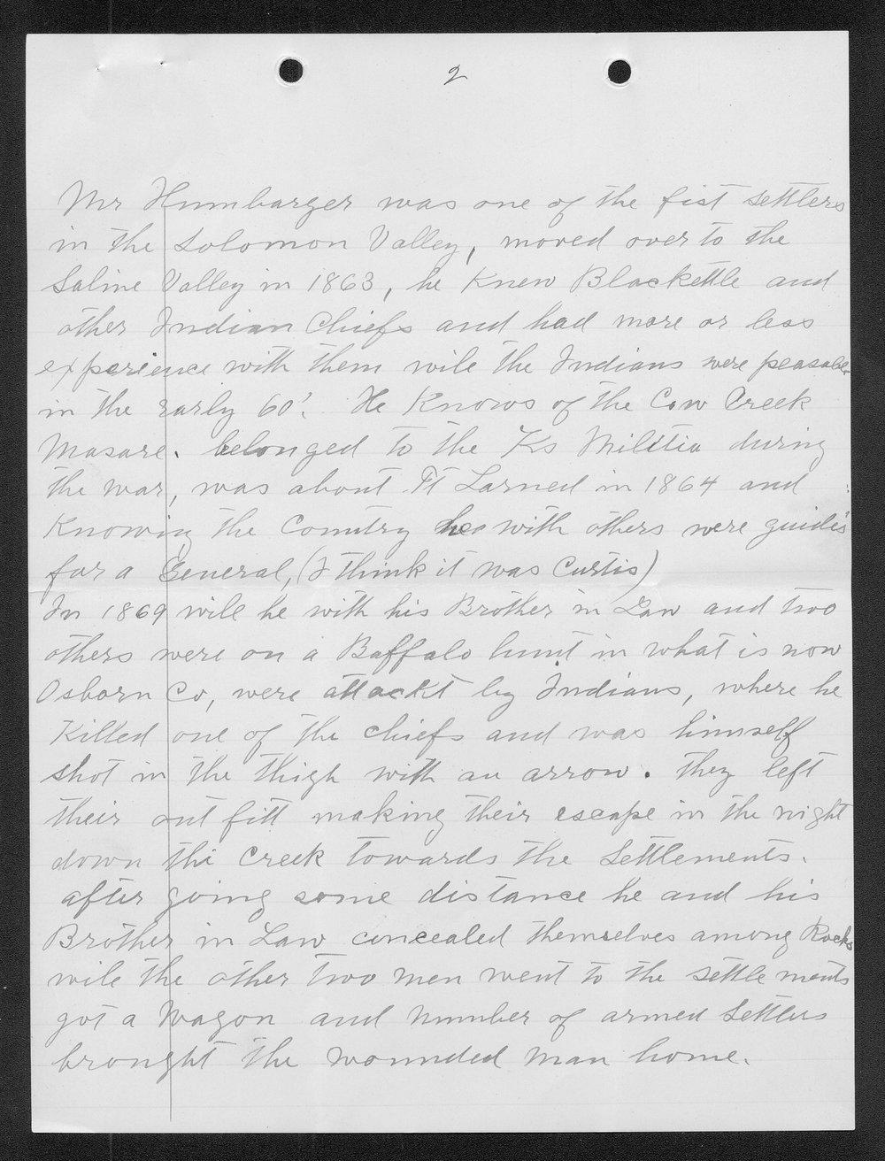 Adolph Roenigk and George W. Martin correspondence - 9