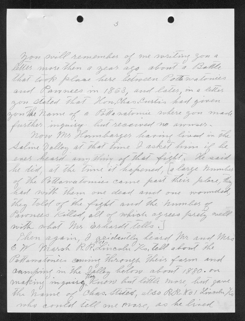 Adolph Roenigk and George W. Martin correspondence - 10