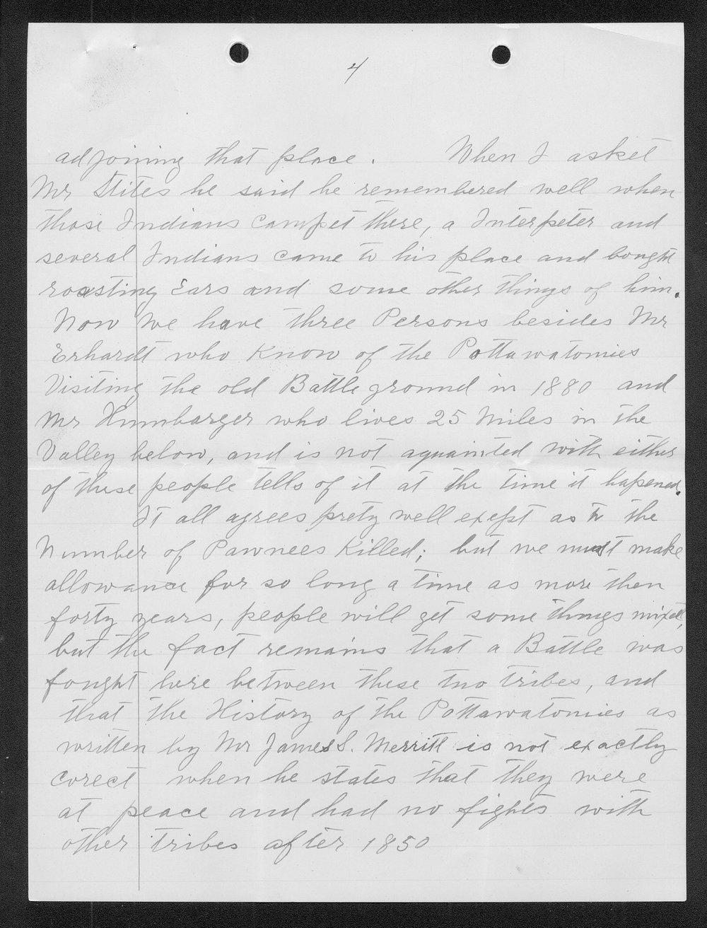 Adolph Roenigk and George W. Martin correspondence - 11
