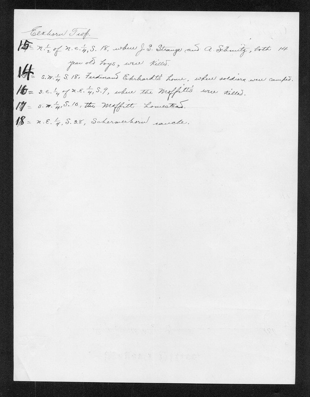 C. Bernhardt to George W. Martin - 5
