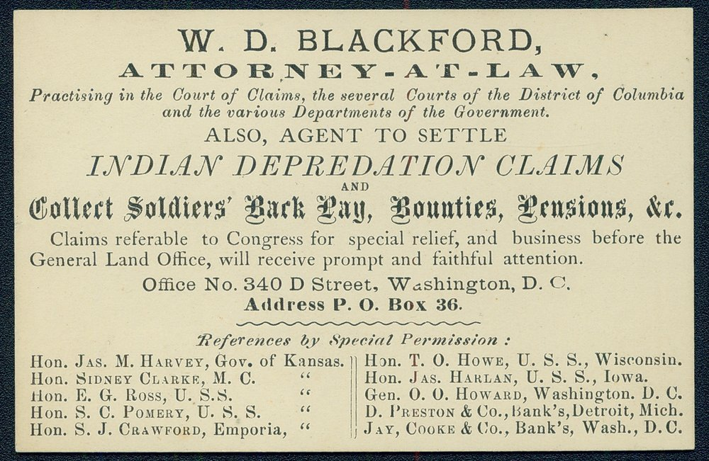 W.D. Blackford, Attorney-at-Law