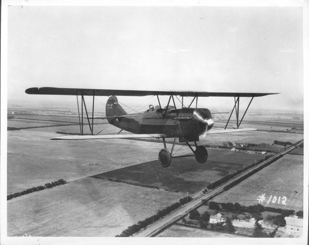 Travel Air OX-5 airplane