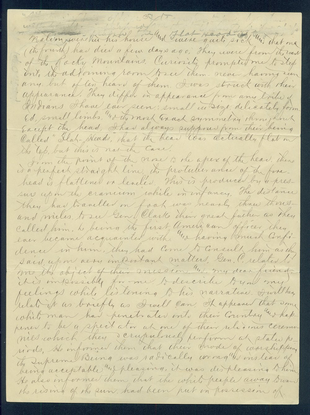 William Walker to G.P. Disosway - 3