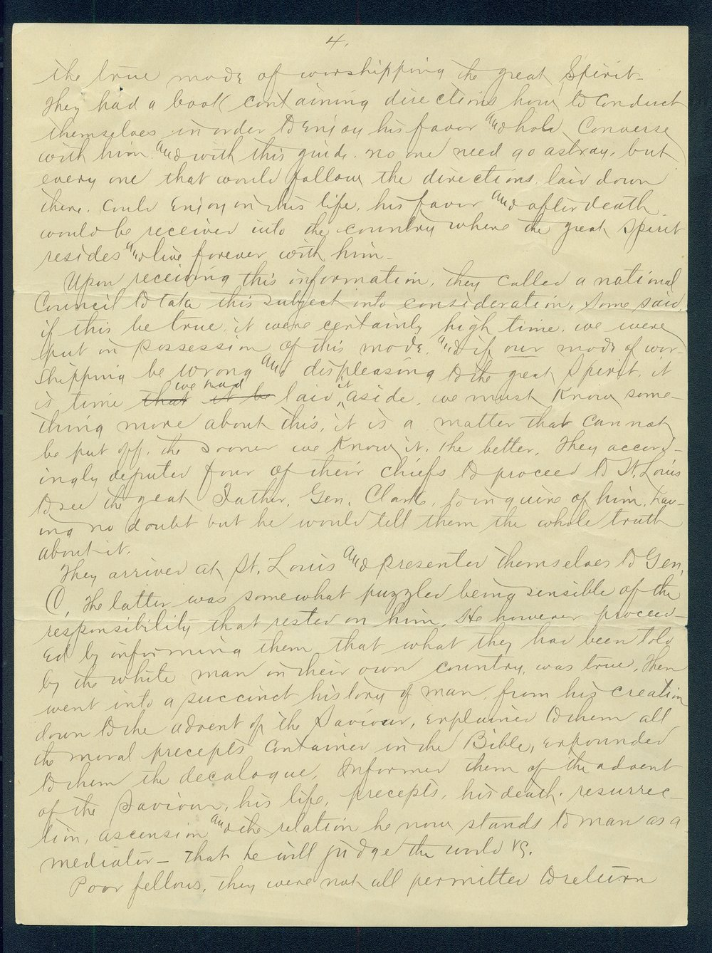 William Walker to G.P. Disosway - 4