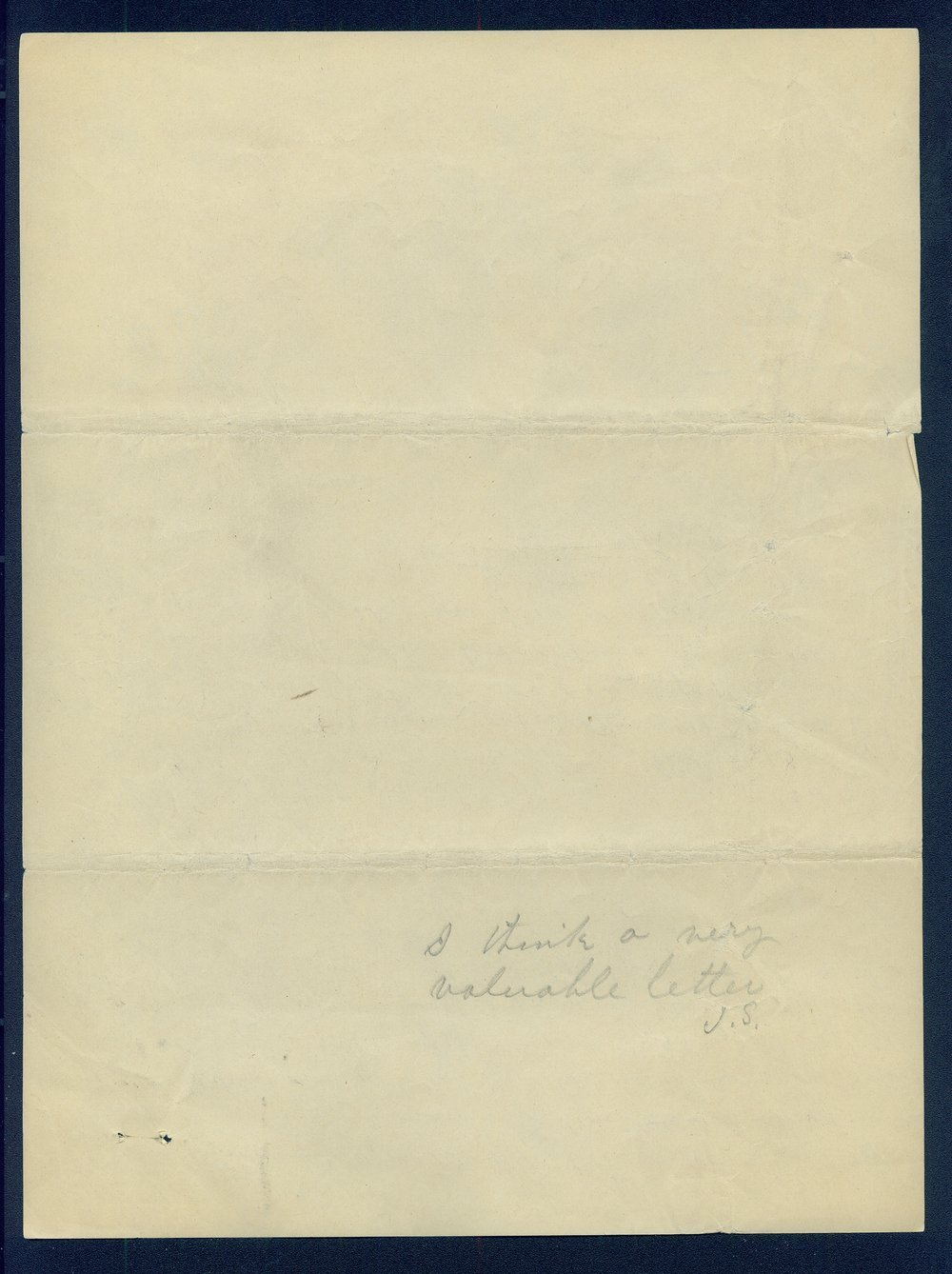 William Walker to G.P. Disosway - 6