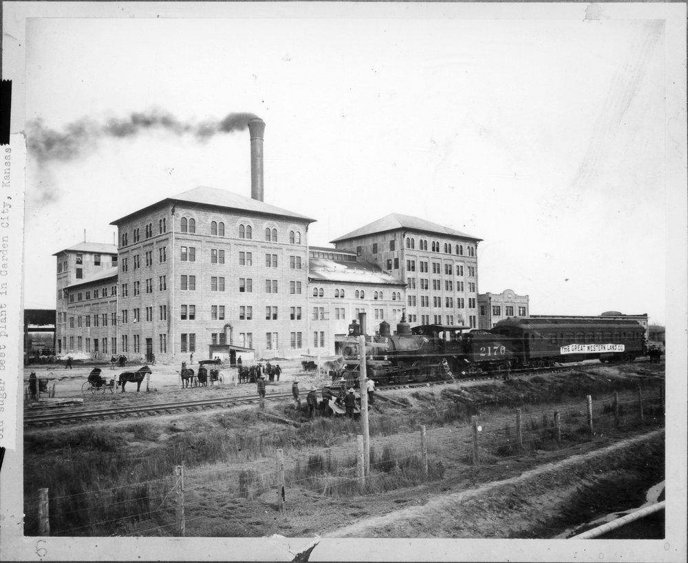 Sugar Beet Factory Garden City Kansas Kansas Memory Kansas Historical Society
