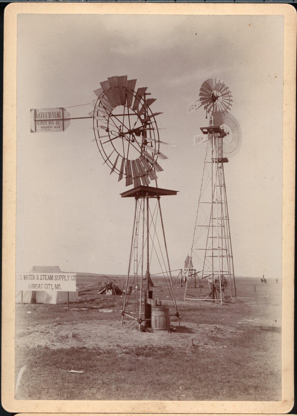 Irrigation and windmills in Kansas - 1