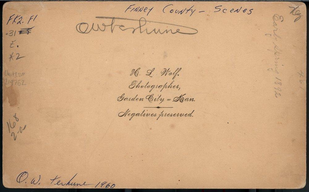 First steam plow in Garden City, Finney County, Kansas - 2
