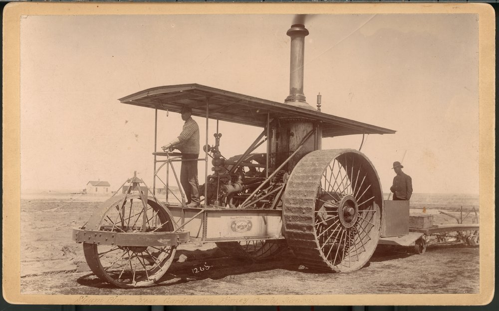 Agricultural equipment, Garden City, Finney County, Kansas - 1