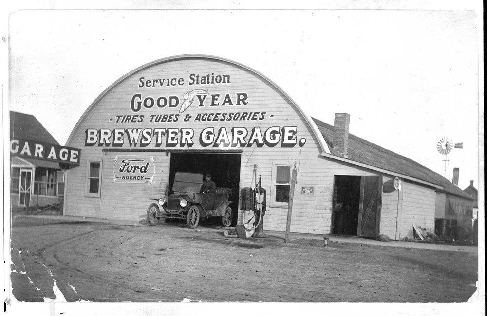 Brewster Garage, Brewster, Kansas - 1