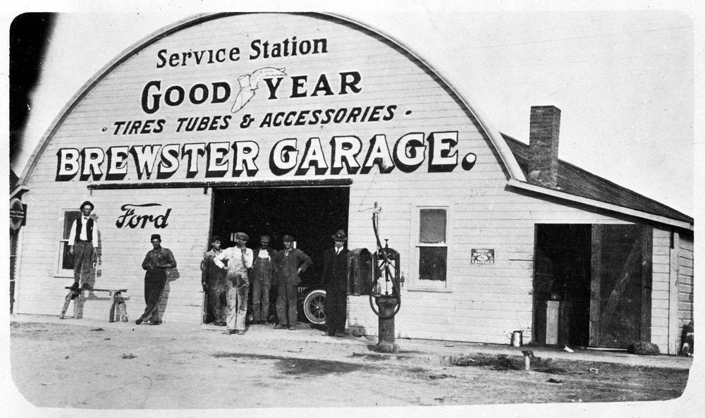 Brewster Garage, Brewster, Kansas - 2