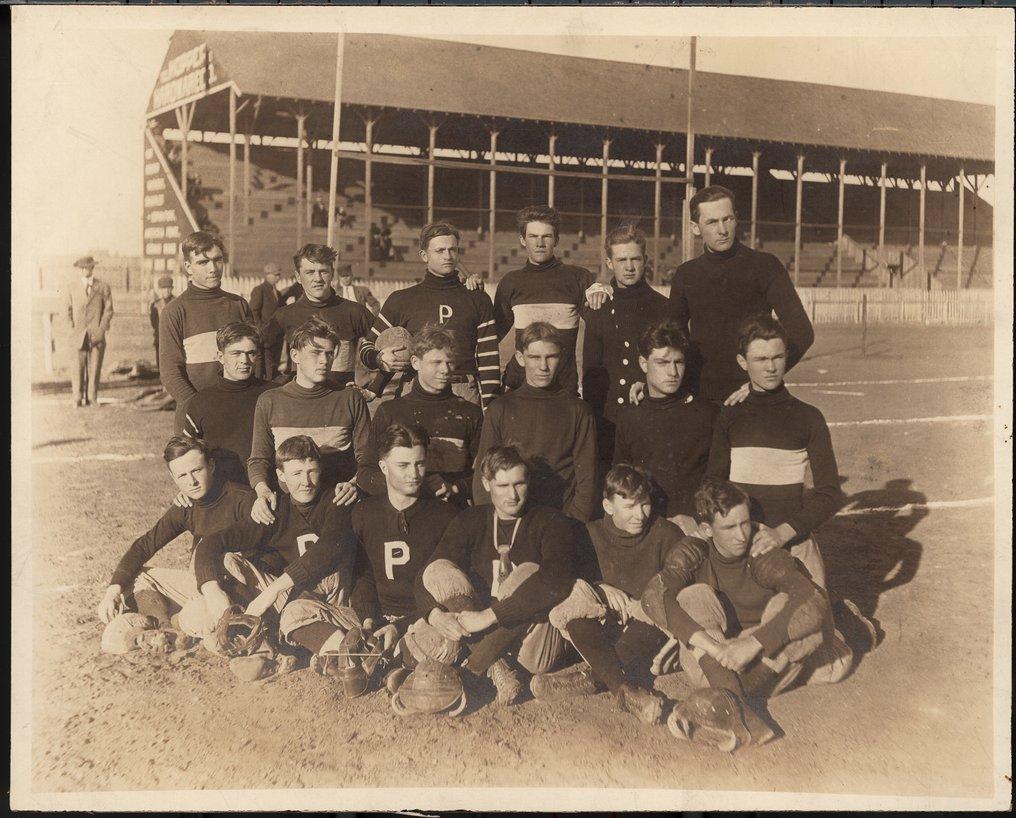 Football team, Pratt, Kansas
