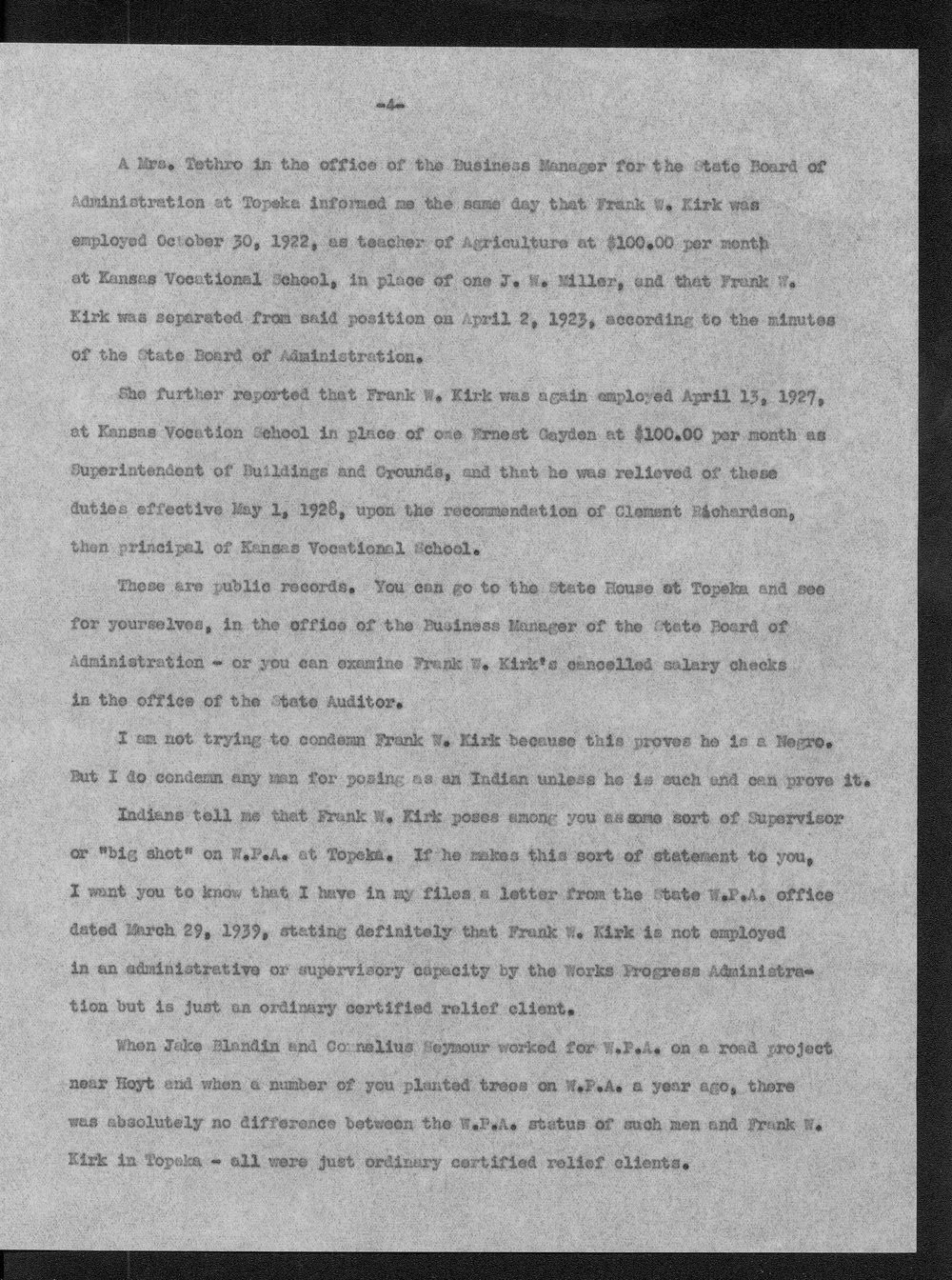 H.E. Bruce to Charles Cecil Howes - 6