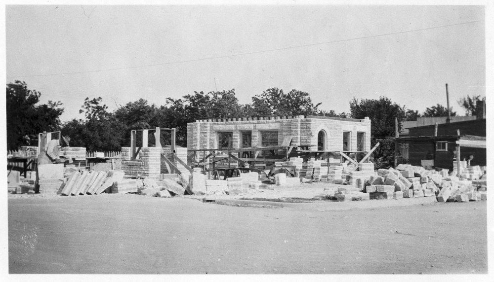 E. W. Norris service station, Glen Elder, Kansas - 8