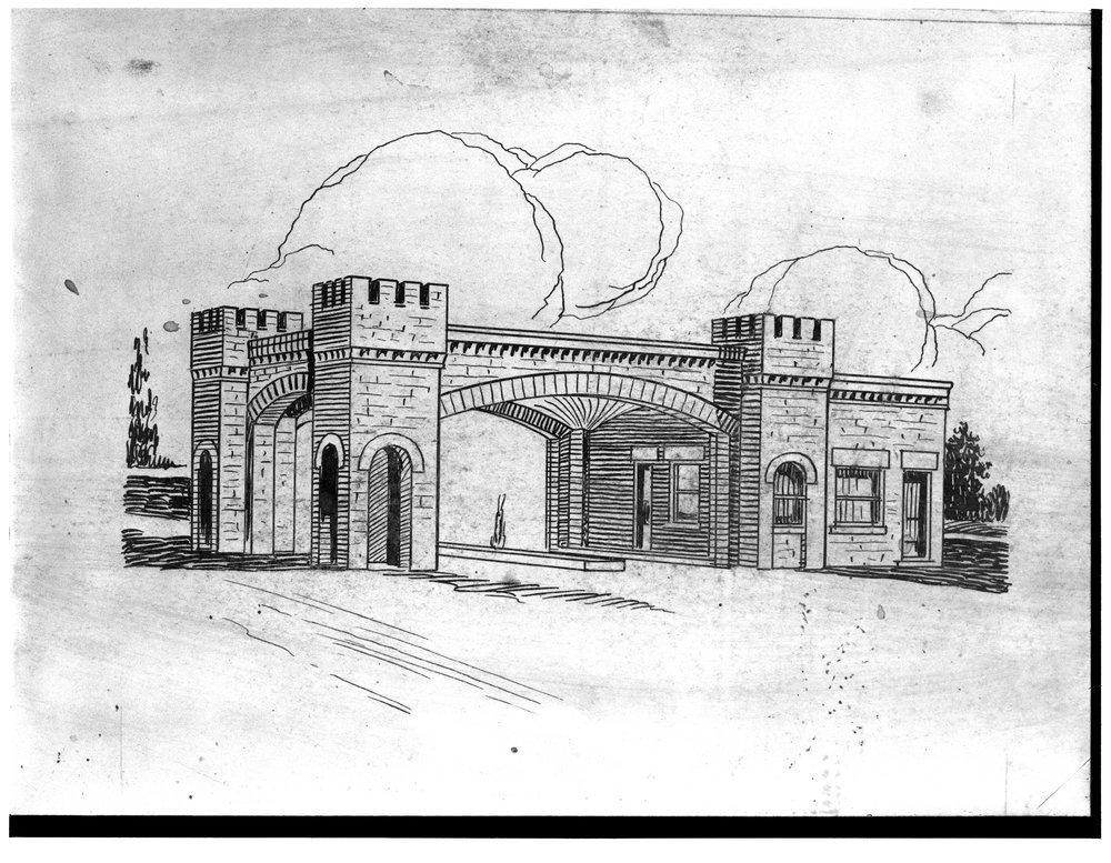 E. W. Norris service station, Glen Elder, Kansas - 1