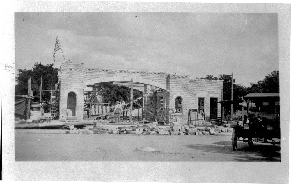E. W. Norris service station, Glen Elder, Kansas - 10