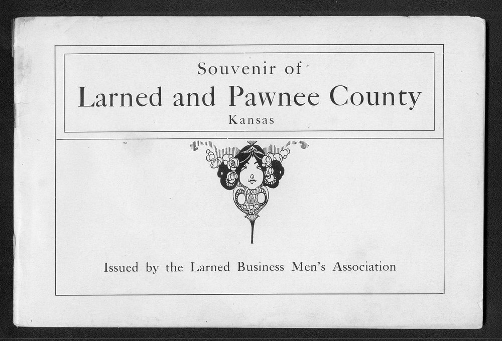 Souvenir of Larned and Pawnee County, Kansas - Title Page