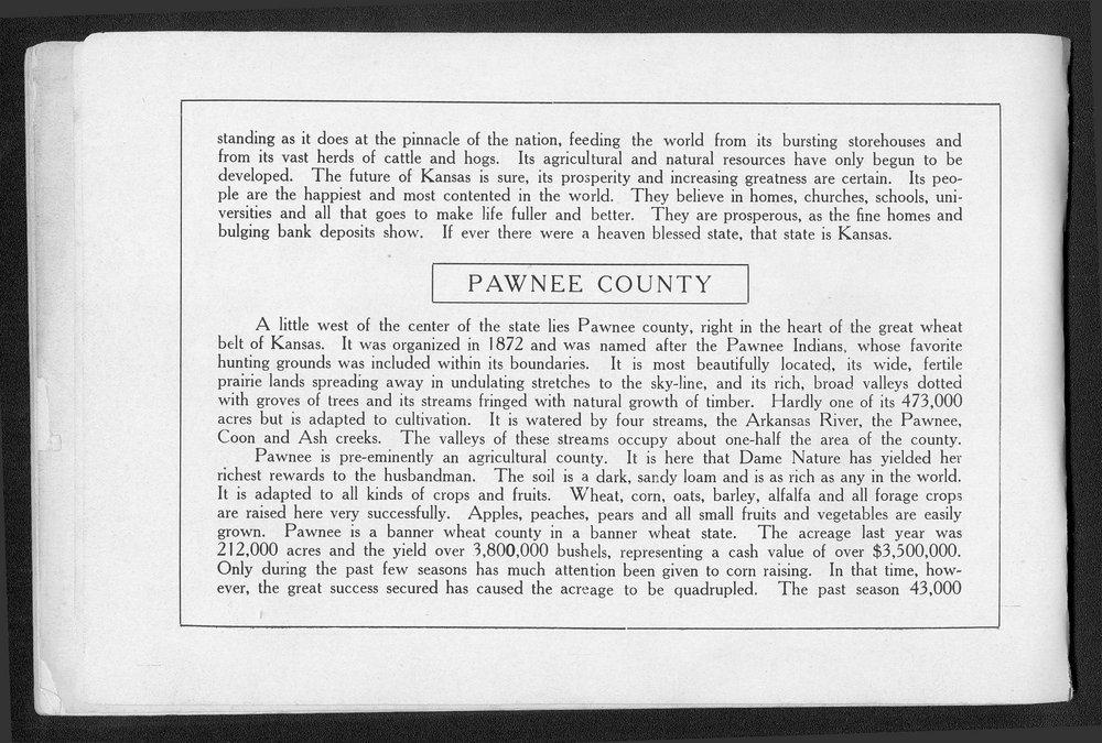 Souvenir of Larned and Pawnee County, Kansas - 5