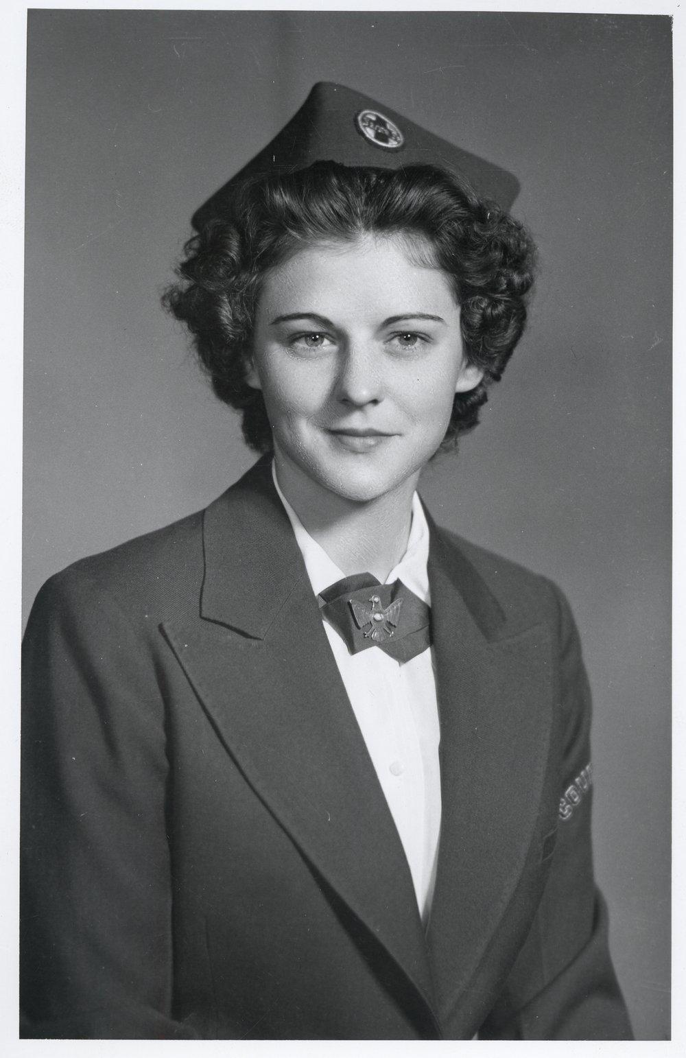 Frances Bucky, Santa Fe Courier Nurse