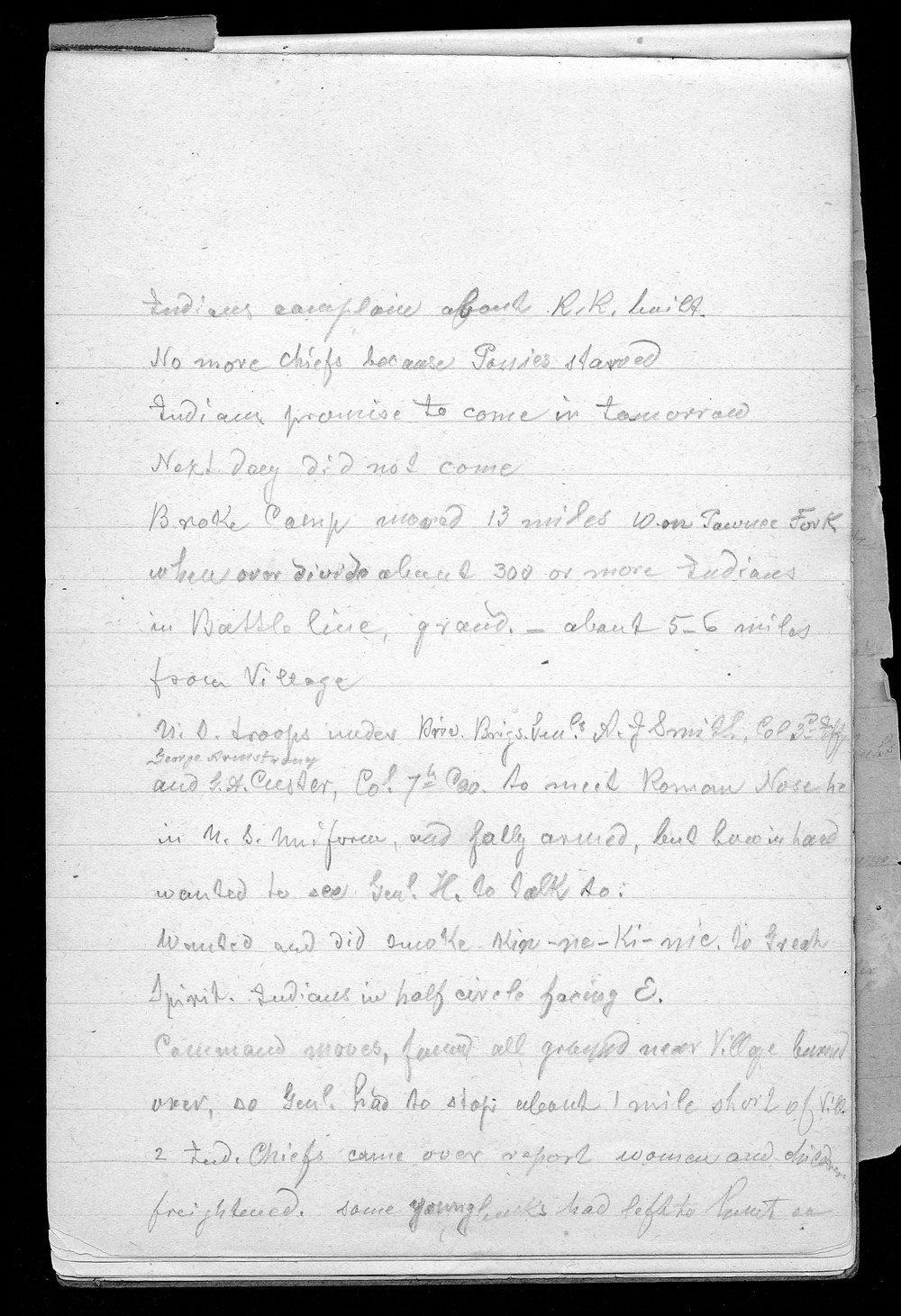 Hancock Campaign, March 1867 - 3