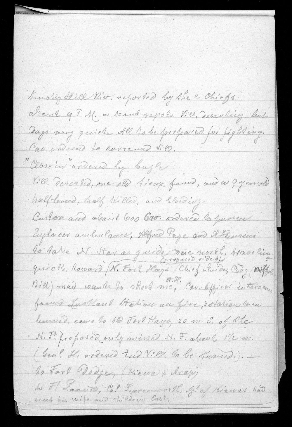 Hancock Campaign, March 1867 - 4