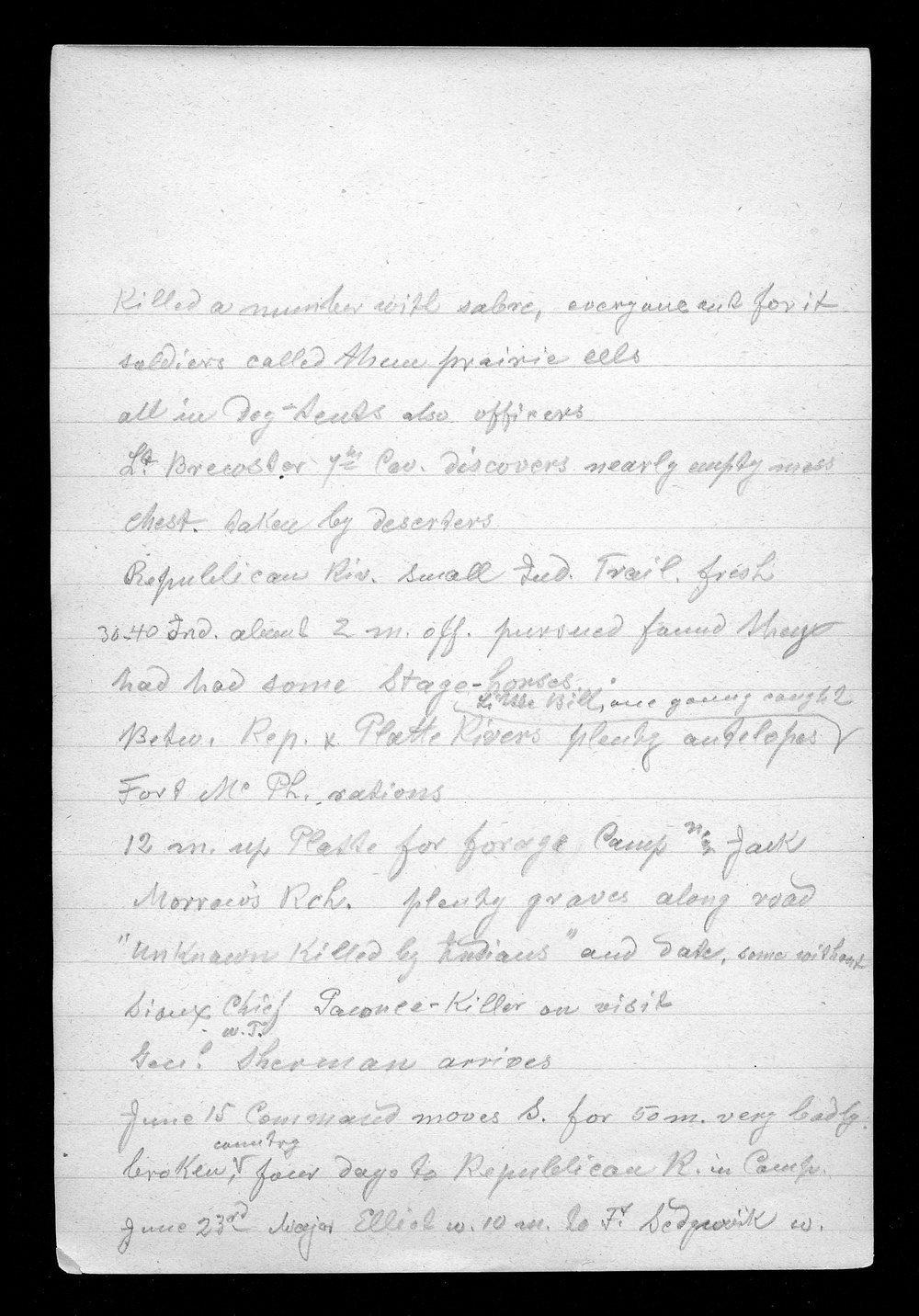 Hancock Campaign, March 1867 - 6