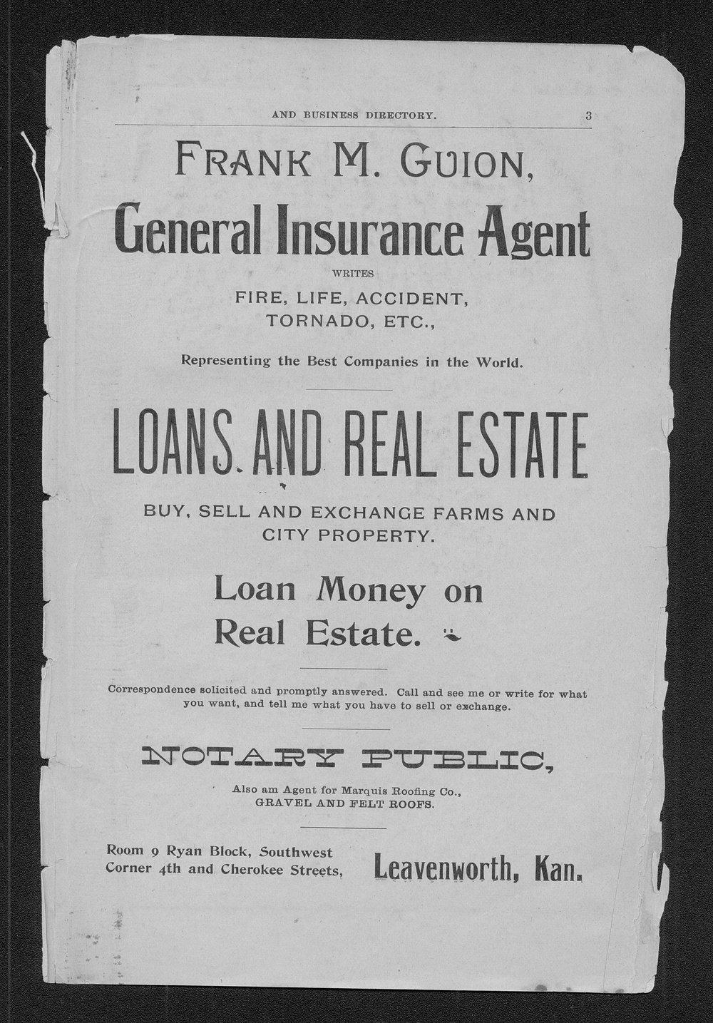 Polk's Kansas state gazetteer and business directory - 3
