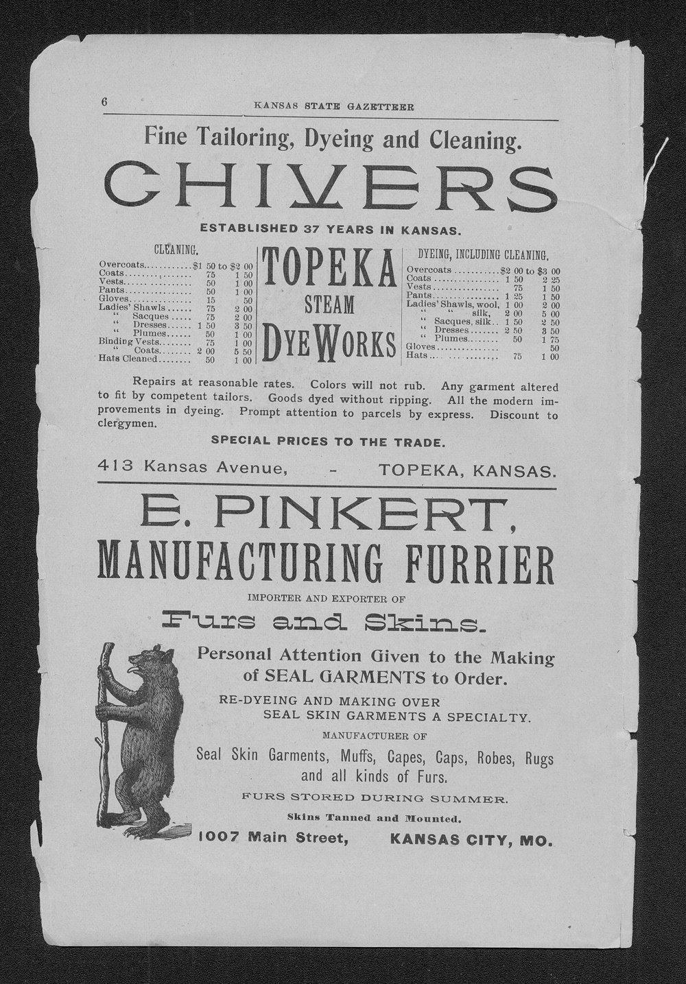 Polk's Kansas state gazetteer and business directory - 6