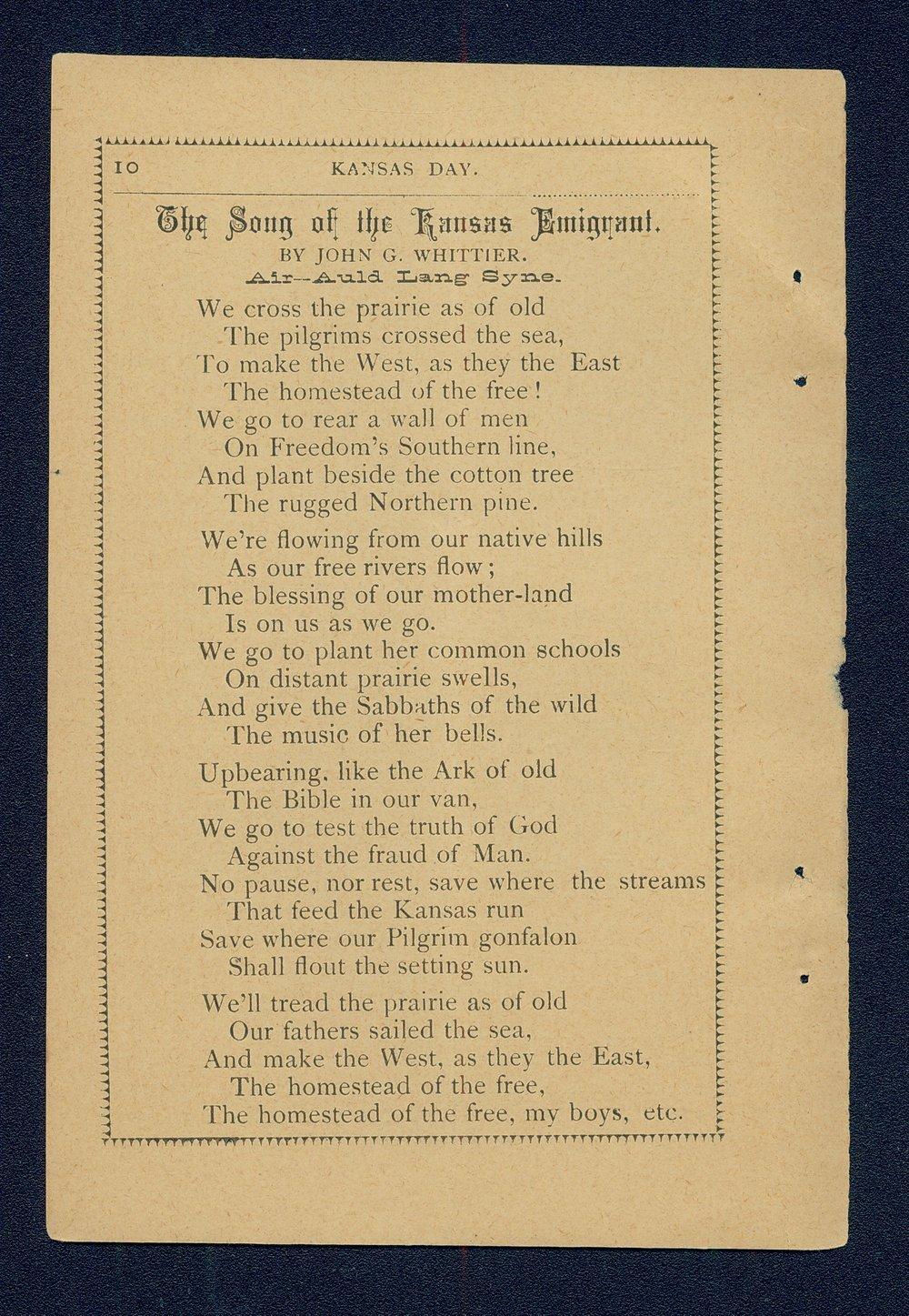 Kansas Day for Kansas schools - 10