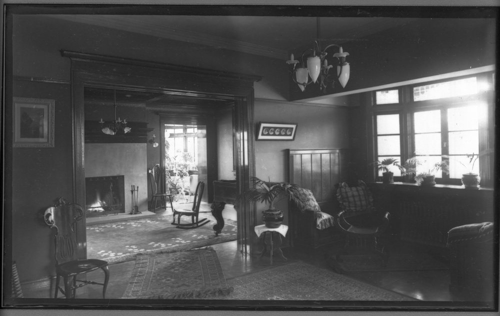 Living room and den of the Dunn house - 1