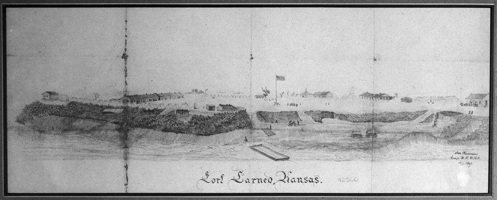 Fort Larned in Kansas