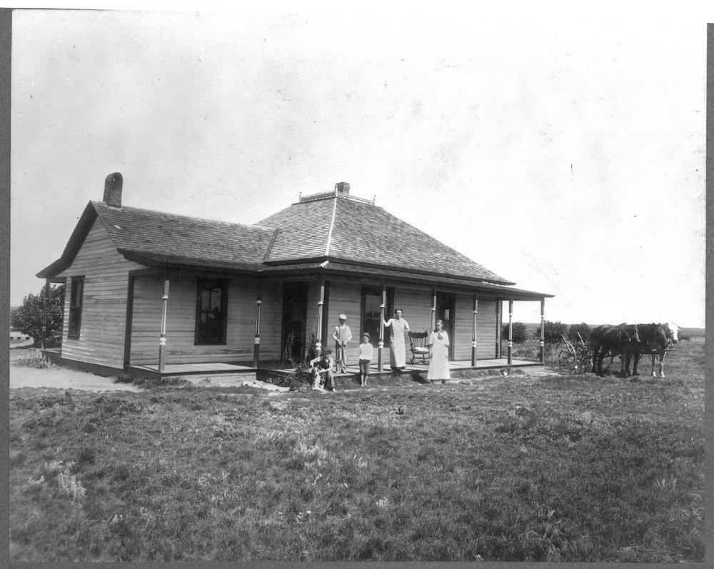 Farm houses in Pawnee County, Kansas - 2