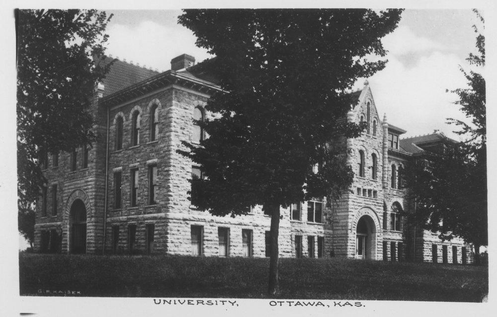 Administration building at Ottawa University - 3