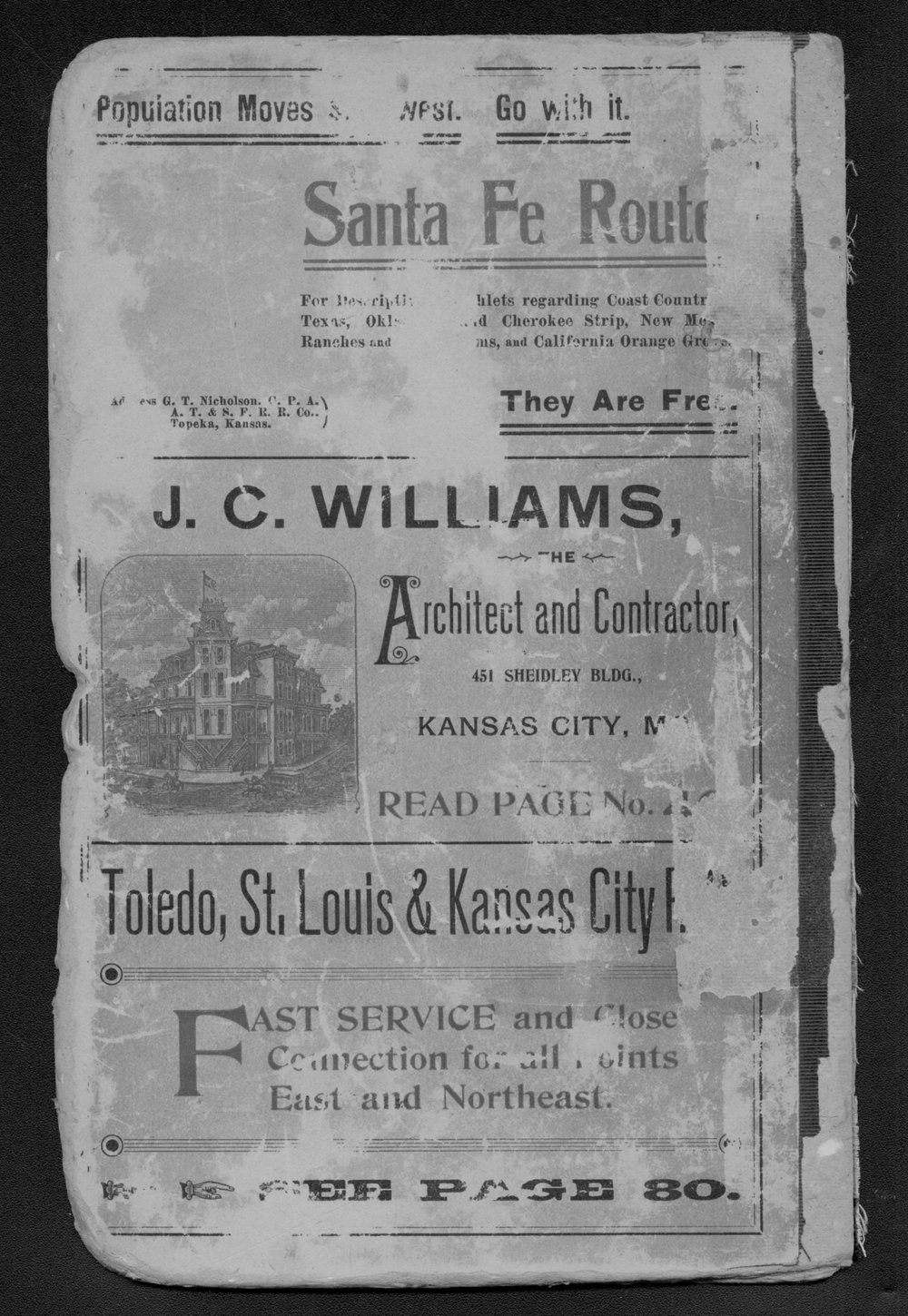 Polk's Kansas state gazetteer and business directory - Back Cover