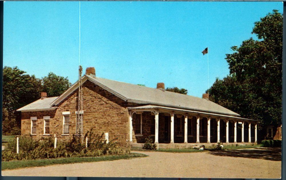 Fort Larned buildings - 1