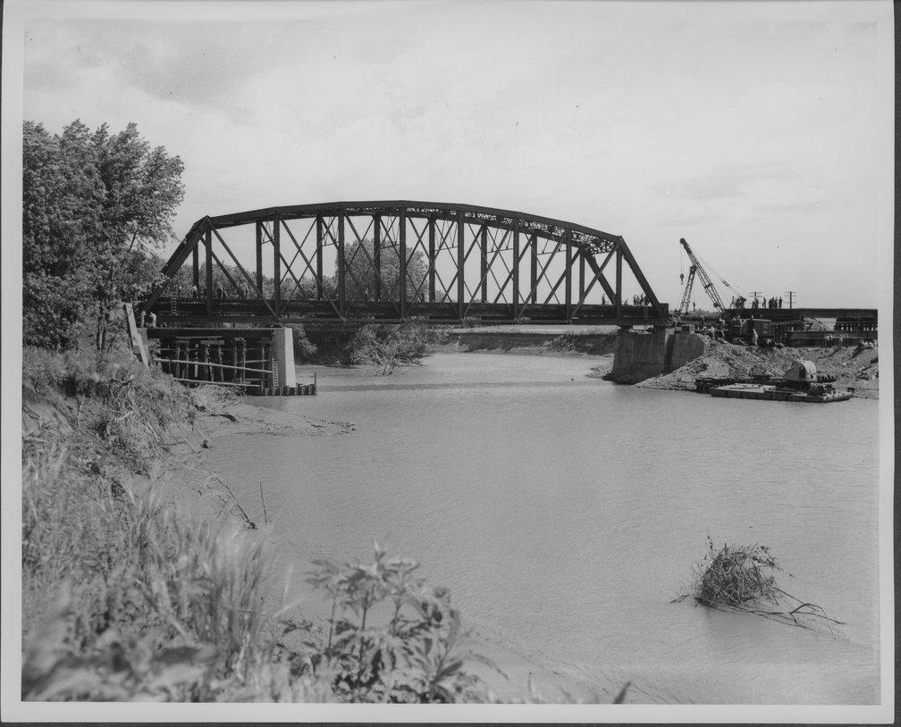 Atchison, Topeka & Santa Fe Railway Company bridge, Neosho Rapids, Kansas