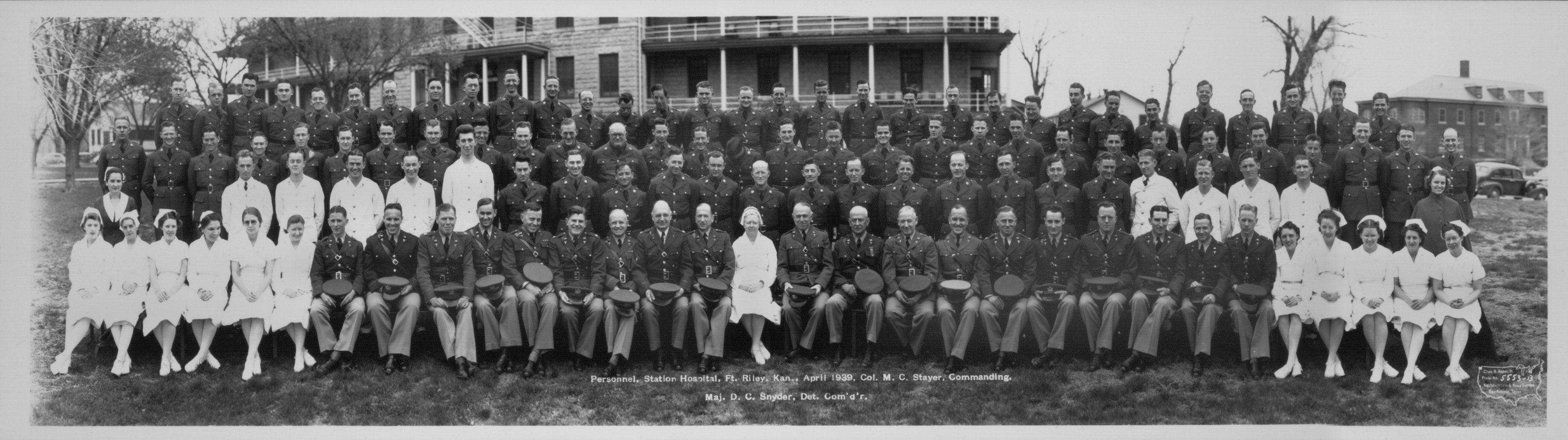 Station Hospital personnel at Fort Riley