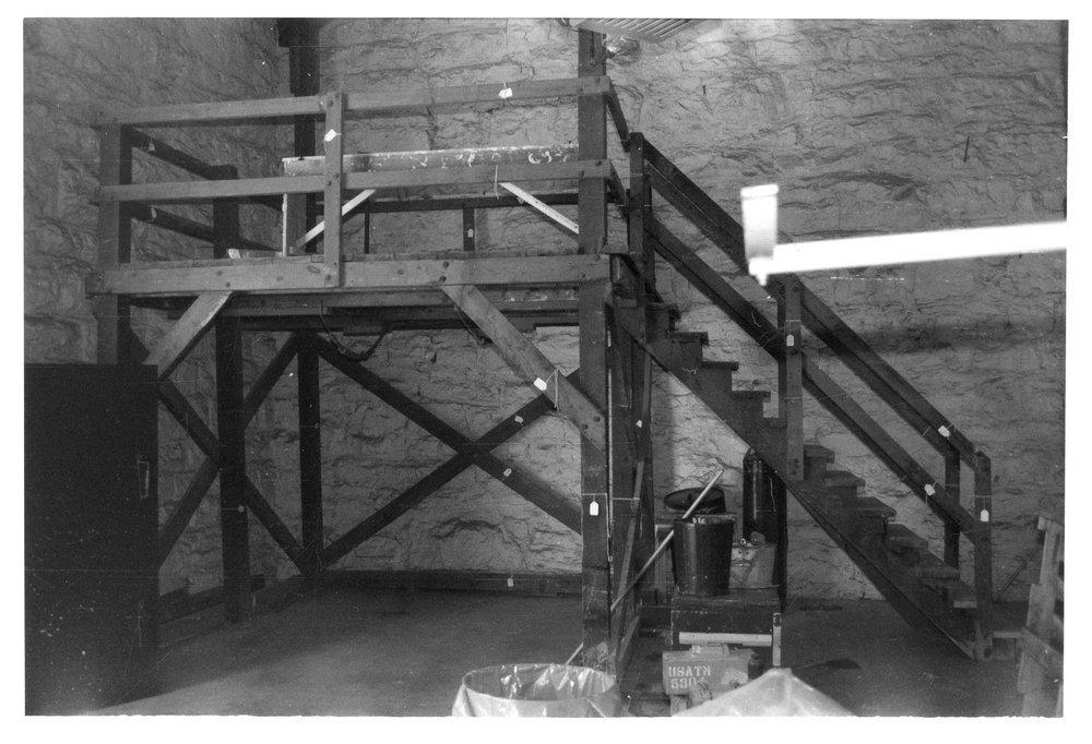 Gallows, Kansas State Penitentiary, Lansing, Kansas