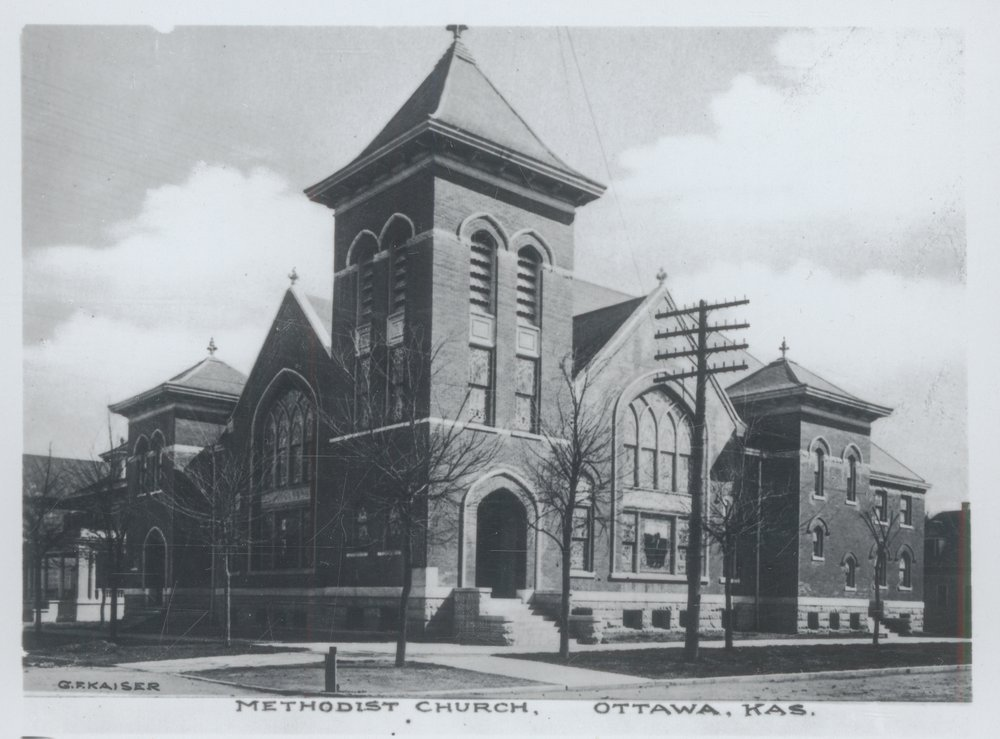 First Methodist Church in Ottawa, Kansas
