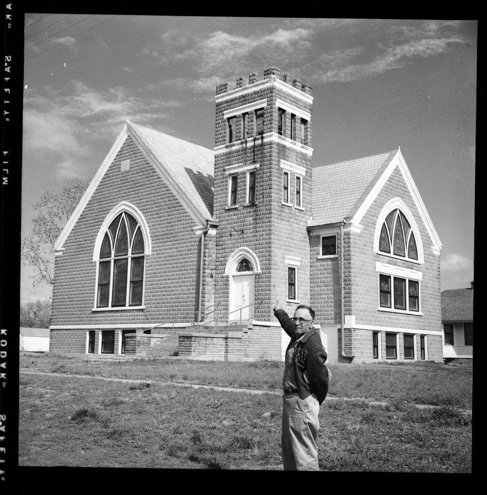 Congregational church, Garfield, Kansas - 2