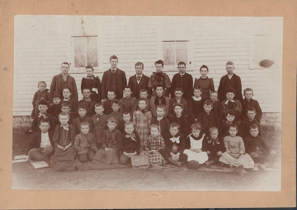 Kansas School District 43 class photo