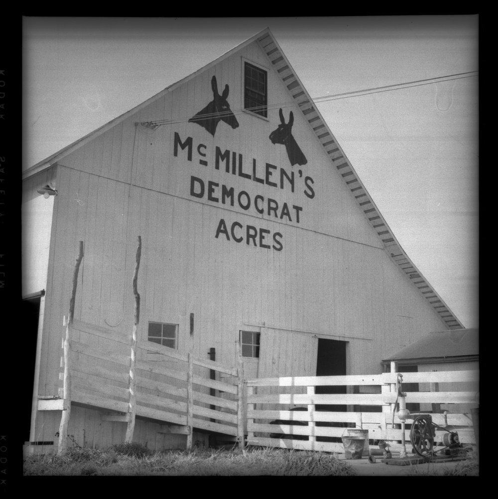 Franklin County, Kansas, barn - 1