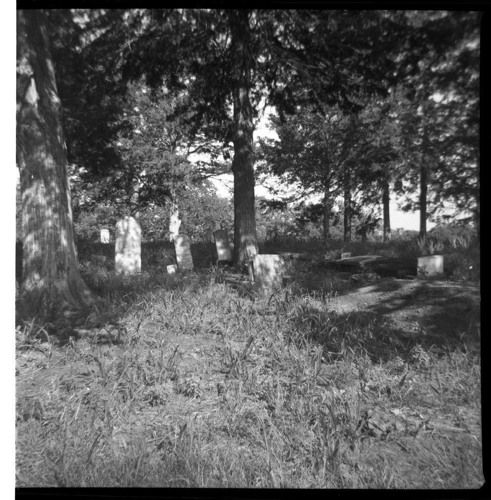 Chippewa Indian cemetery, Franklin County, Kansas - 1
