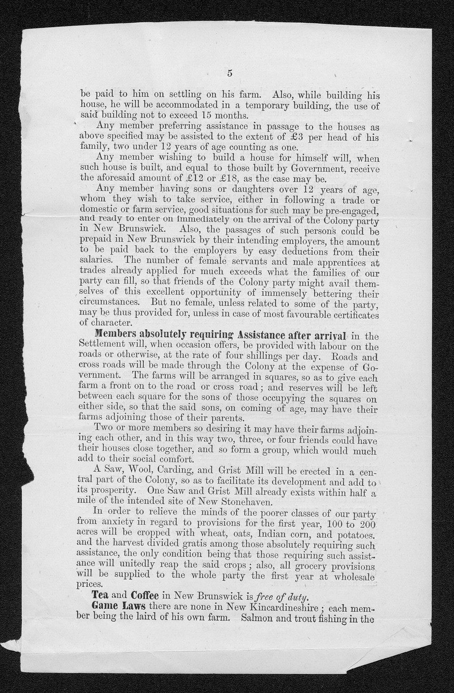 Governor Thomas Osborn immigration received correspondence - 10