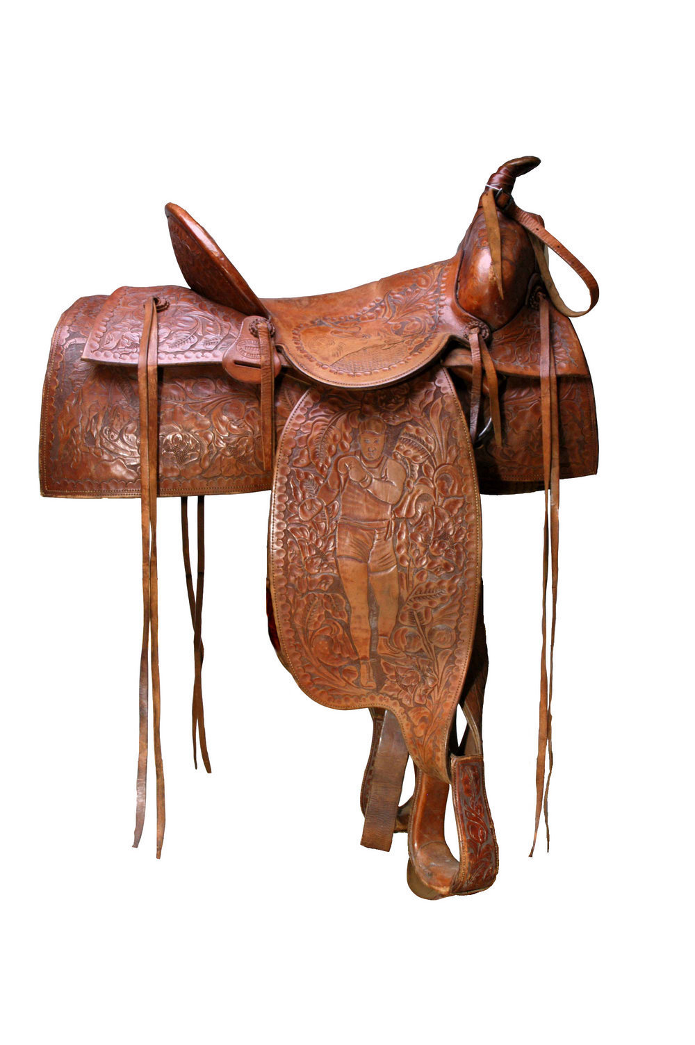 Jess Willard's saddle - 1