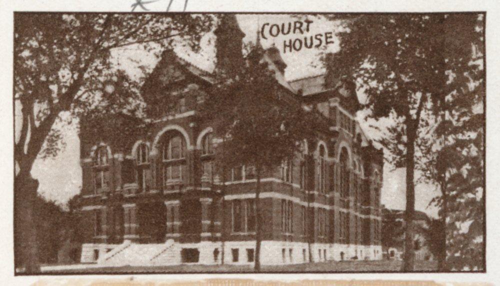 Multiple views of Ottawa Kansas in  1910 - 11